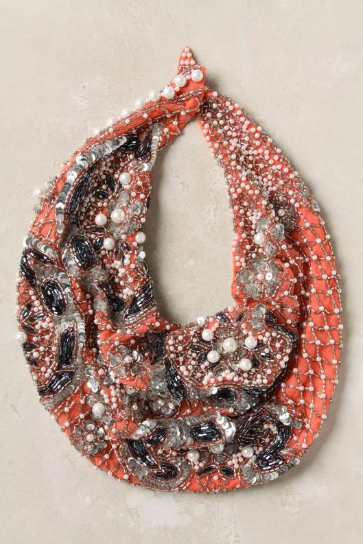 Coralline Scarf Necklace