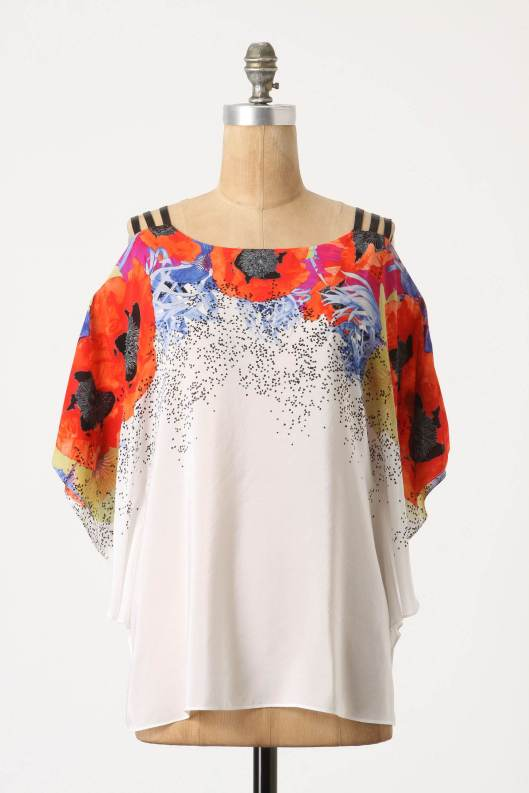 Shattered Heartsease blouse