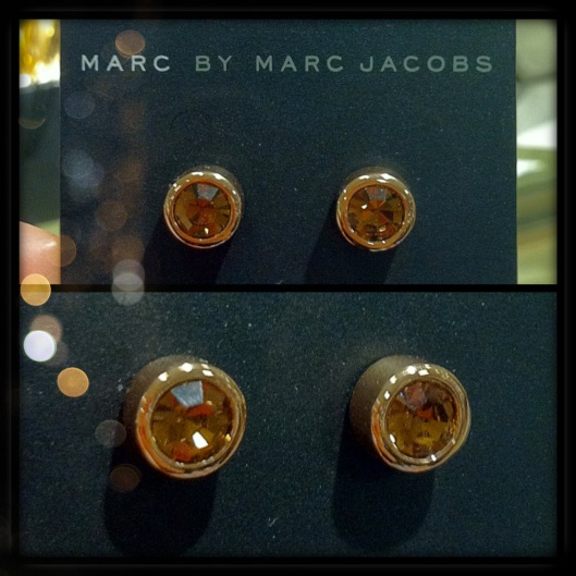 Marc By Marc Jacobs Stud Earrings