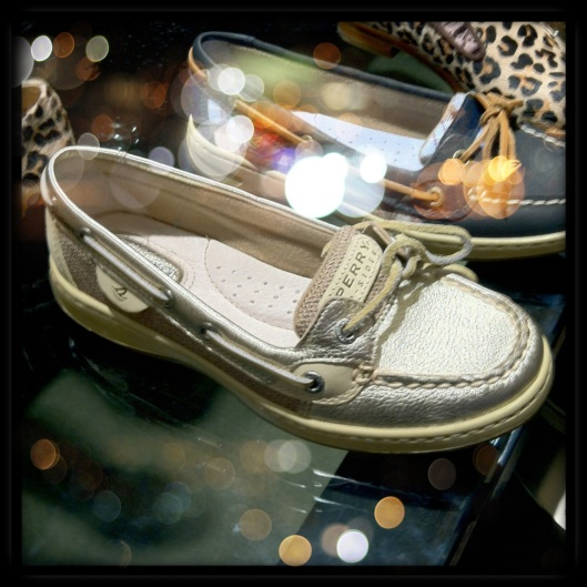 Metallic Boat Shoes- Sperry