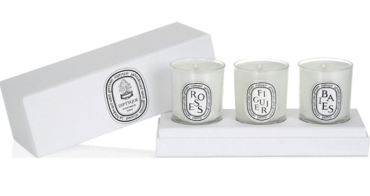 Diptyque- Boxed Set Of Three Mini Candles